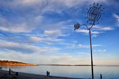 20171004 Oak Bay Willows Beach Bodhi Frog (Robert Harwood) Tags: sculpture oakbay victoria vancouverisland britishcolumbia canada dougtaylor willowsbeach cattlepoint sunset