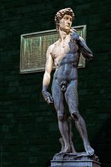 Replica of Michelangelo's David (Paweł Szczepański) Tags: firenze toscana italy it trolled pinnaclephotography legacy