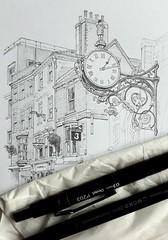 Coney Street clock, York