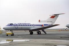 CCCP-87267 Yakovlev Yak-40 Aeroflot (pslg05896) Tags: uatt aktyubinsk aktobe kazakhstan cccp87267 yakovlev yak40 aeroflot akx