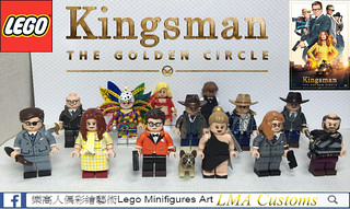 MOC LEGO KINGSMAN 2 All Minifigures