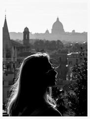 Backlight@Rome@Italy (Marco Di Ferrante) Tags: street rome girl sanpietro sanpeter roma
