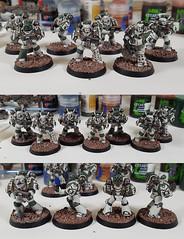Pre-heresy Death Guard Update! (OrangeKNight) Tags: 40k 40000 warhammer horus heresy pre death guard painting miniature model games workshop legion space marines spaece mahrines 30k 30000