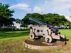Cannon @ Plaza de Espana 01 (orgazmo) Tags: guam plazadeespana historicalsites stilllife cannons agana hagatna pentax 645z fa64535mmf35 mediumformat