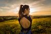 Brace Yourself (Daniele Pauletto) Tags: light nature landscape model girl fashion sensual goldenhour hope modella shoulders back girlback beauty bellezza dpphotography