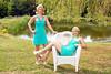 Twice the Beauty (Davien Orion) Tags: explore clones clone multiplicity adobephotoshop fantasy sonya77 green blue dress model