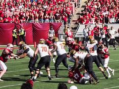 Balls Loose 2017 UW Badgers vs Maryland Terrapins (Bely Medved) Tags: football marylandterrapins uwbadgers ©jrj em1markii olympus