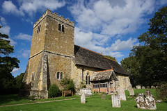 St Margaret, Ockley (p.mathias) Tags: architecture historical histroy building graveyard graves grave rural europe uk england churches church sony a5100 csc history historic design south day buildings grass sky tree united kingdom ockley cloudy cloud clouds bluesky