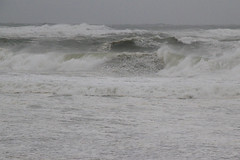 Furious Ocean (4 of 6) (brucetopher) Tags: waves wave surf angry power crash crashing rip riptide current wind winddriven break breakers shore coast coastline storm stormy hurricane gale beach stacked stacking curl curling thundering loud surge stormsurge erosion powerful fall winds northeast noreaster noreasthah north atlantic water saltwater sea ocean coastal seaside seacoast heavy froth foam foamy seafoam