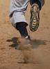 Steal! (martiecl) Tags: baseball stealing stealsecondbase cleats dirt