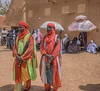 Guards protecting the Sultan of Agadez (Hannes Rada) Tags: niger sultans palace guards agadez
