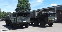 MAN 10t mil gl & MAN 15t mil gl MULTI (michaelausdetmold) Tags: man lkw truck fahrzeug militär armee bundeswehr heer gl