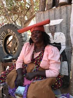 Herero Woman Damaraland Namibia Southern Africa