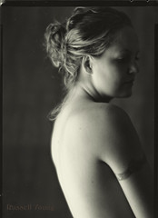 Muse (Russell Young, F.R.P.S.) Tags: verito softfocus portrait viewcamera largeformat studio 5x7 burkejames