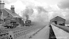 c.1950 - Muirkirk, Ayrshire. (53A Models) Tags: nationalcoalboard grantritchie 040st muirkirkno6 gr5141907 andrewbarclay ab6551890 industrial steam kamescolliery muirkirk ayrshire train railway locomotive railroad