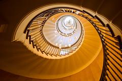 Heals Eye (Bernhard Sitzwohl) Tags: spiral heals london staircase stair interior design architecture detail architecturaldetail colour vibrant lash eye uk inside lookingup