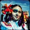 Colorful ribbons (rustman) Tags: vivalavida diadelosmuertos dayofthedead austin austintx austintexas atx mexicarte mexicanfolkart mexicanart calavera parade portrait texaslife