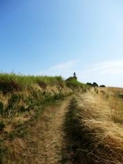 Path to Skjolndnæs Lighthouse (Jaedde & Sis) Tags: path lighthouse skjoldnæs ærø pregamewinner sweep friendlychallenges