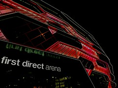 This is the #firstdirectarena in #leeds #unitedkingdom it