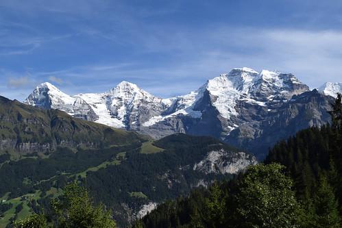 Eiger, Mönch, and Jungfrau