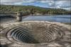 The Dam Plug hole (Darwinsgift) Tags: nikkor 24mm pce f35 d ed nikon d850 hdr dam reservoir peak district england