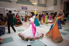 Garba (hemangster) Tags: dance navratri woman dress flash nikon d800 people dashera gujarati folsom white