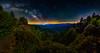 Appalachian Trail Magic (Jeff Rowton) Tags: milkyway stars astronomy nature night nightsky nightscape nationalpark greatsmokymountains gsmnp appalachiantrail trailmagic hiking backpacking