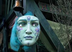 A mask. Renaissance Faire (NataThe3) Tags: renaissancefaire medievalfestival festival mask