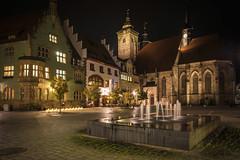 Schmalkalden (uschmidt2283) Tags: a7r architektur fachwerke landschaften langzeitbelichtung lichtoutdoor nachtaufnahmen natur städte
