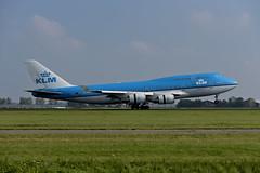 B747_KLM_PH_BFC_VA_5307 (Jan van der Heul) Tags: schiphol schipholairport eham ams aircraft airplane civilaviation amsterdam boeing747 jumbojet 747 b747 boeing queenoftheskies klm