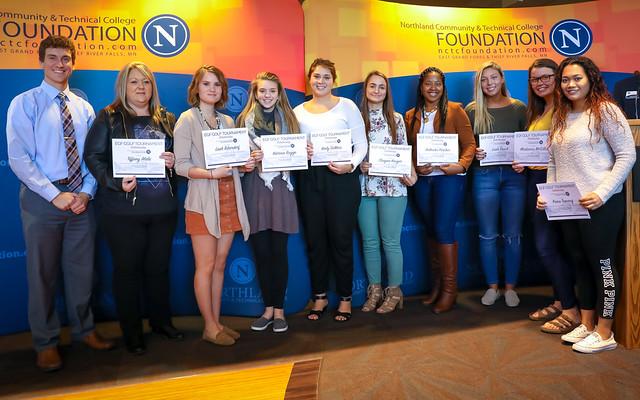2017 EGF Fall Scholarship Ceremony