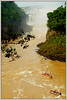 TOUR BOATS, IGUAZU FALLS, ARGENTINA (Gary Post) Tags: tourboats iguazufalls argentina river