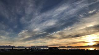 Atardecer en Puerto Natales / Chile