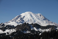 Mount Rainier from Chinook Pass (jlcummins - Washington State) Tags: mountrainiernationalpark chinookpass washingtonstate lewiscounty mountain snow tipsoolake landscape