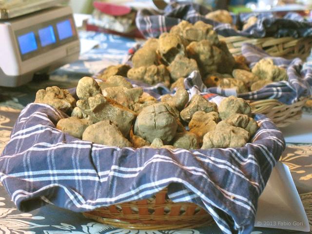 イタリアの秋の味覚!日本語アシスタントと蒸気機関車で行くトリュフ祭り&シエナ