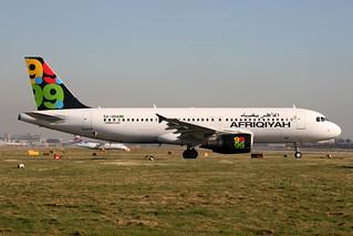 5A-ONA A-320-214 Afriqiyah
