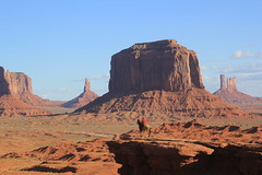 The Lonesome Cowboy, Monument Valley, Utah, USA. (Seckington Images) Tags: cowboy usa flickr