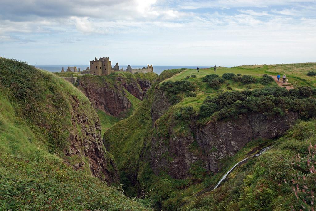 2017-08-26 09-09 Schottland 351 Stonehaven, Dunnottar Castle