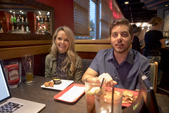 0926 Parker and Amanda Vandergriff at Red Robin