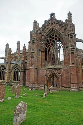 2017-08-26 09-09 Schottland 162 Melrose Abbey