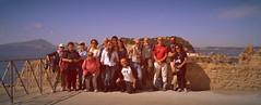 Eccoci!!!!! (Colombaie) Tags: omogirando visita guidata visite guidate gay friendly turismo lgbt omosessuale omosessuali eterosessuale eterosessuali insieme assieme cultura tempolibero lesbica lesbiche inclusività amici amicizia napoli posillipo pausilypon publiovediopollione villa imperiale resti archeologici parco archeologico strutture ruderi rovine affaccio baiatrentaremi riserva marina protetta isola isole nisida vista panorama mozzafiato storia golfo pozzuoli campiflegrei ischia procida bacoli ritratto uomo uomini maschio donna donne femmina persone mare