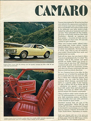 1968 Chevrolet Camaro SS Hardtop and Interior (coconv) Tags: car cars vintage auto automobile vehicles vehicle autos photo photos photograph photographs automobiles antique picture pictures image images collectible old collectors classic ads ad advertisement postcard post card postcards advertising cards magazine flyer prestige brochure dealer 1968 chevrolet camaro ss hardtop interior 2 door super sport muscle red deluxe 68 chevy