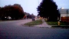Neighborhood at twilight! (Maenette1) Tags: twilight neighborhood street menominee uppermichigan flicker365 michiganfavorites
