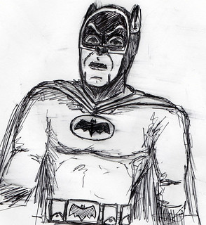 Inktober 6: Batman '66