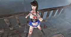 Post 139 - Creepy Alice (Jurinachu) Tags: vco maitreya sl eaterscoma catwa bento ck michan supernatural