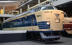 JNR 583 series electrical multiiple unit of 1968 (SteveInLeighton's Photos) Tags: october 2017 japan museum kyoto narrowgauge railroad railway train electric emu hitachi jnr