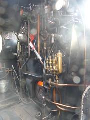 2017-09-30 - P1060250 - NYMR - Steam Gala - 1501 at Levisham - Cab 2 (GeordieMac Pics) Tags: nymr steamgala railway locomotive steamengine 1501 levisham ©2017georgemcvitieallrightsreserved geordiemac panasonic lumix dmc fz200 steam cab uksteam