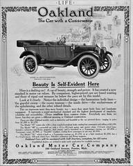 1912 Oakland Model 45 Seven Passenger Touring Car (aldenjewell) Tags: 1912 oakland model 45 seven passenger touring car ad