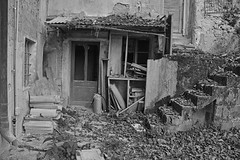 residential building VZ01 12 (jourbexia) Tags: agriculture agricultural farm farming italy italian europe european building buildings rural ruralexploration exploration house houses decay decayed decaying derelict dereliction abandoned disused empty urbex urbanexploration ux urban architecture blackandwhite blackwhite bw black white grey gray greyscale grayscale mono monotone farmhouse farmhouses window windows door doors