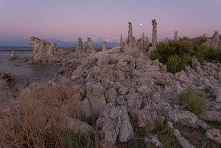 Among the Tufa in the Evening